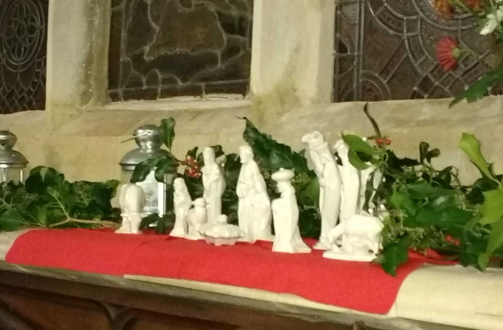 Blessing the crib service 24/12/2017