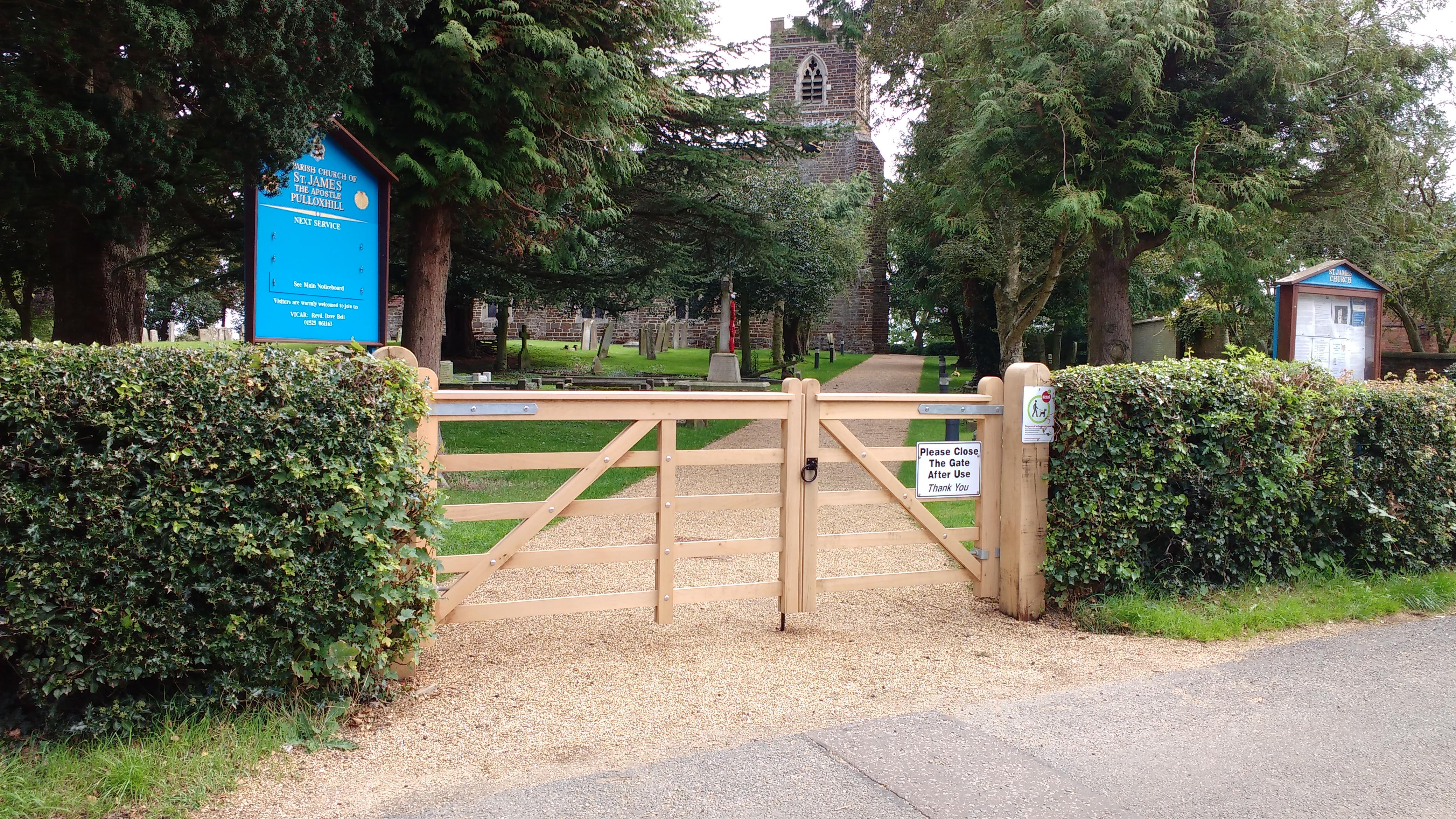 New Church Gates 2017