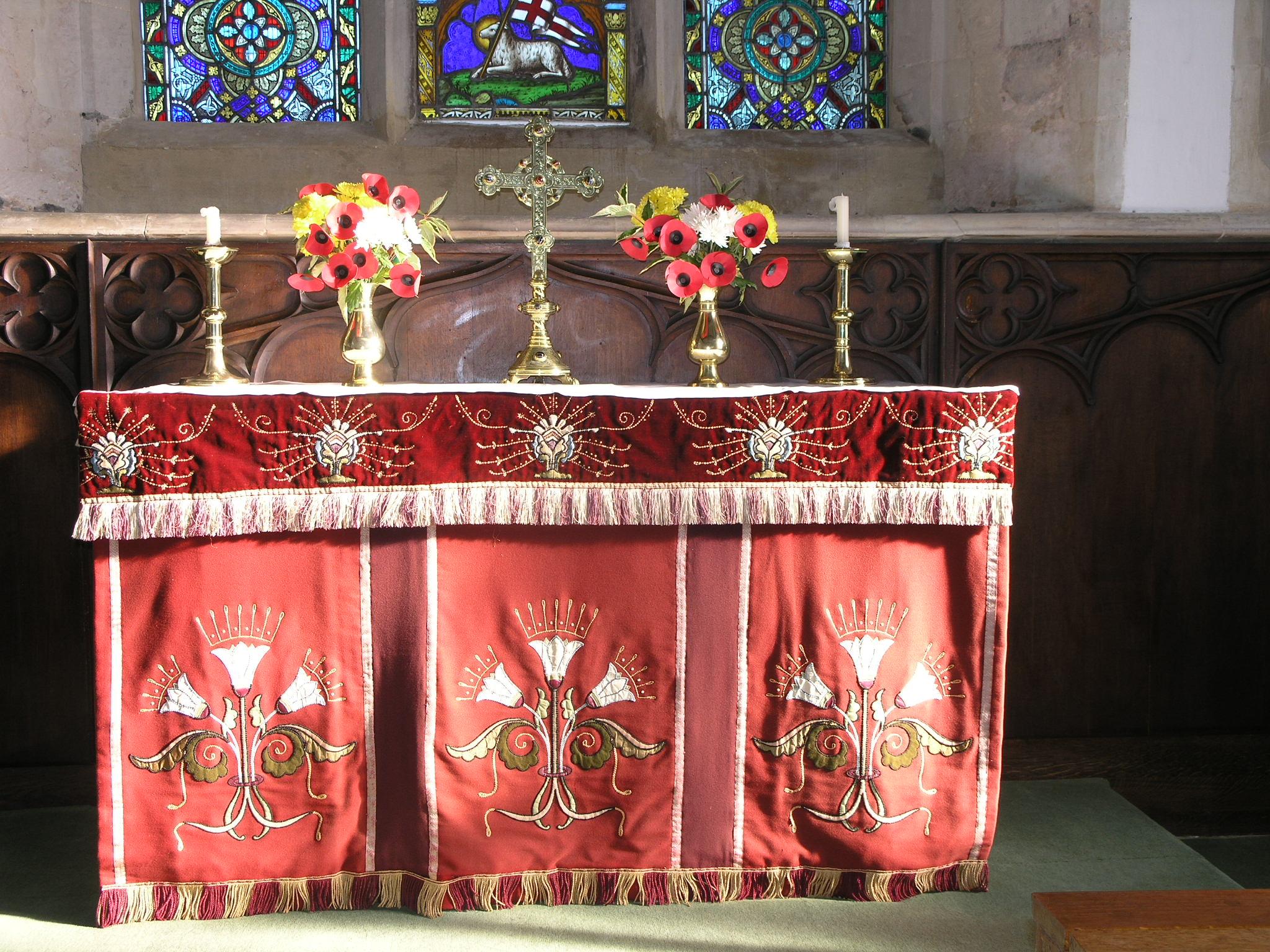 Pulloxhill altar
